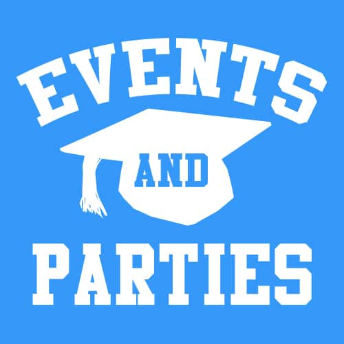 EVENTS, Birthdays, Weddings, Party's, Camps