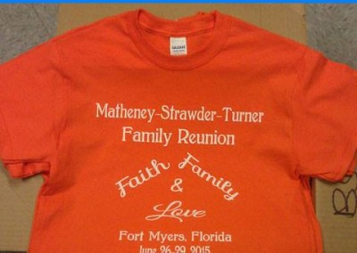Matheney-Strawder-Turner Family Reunion, Fort Myers, Florida