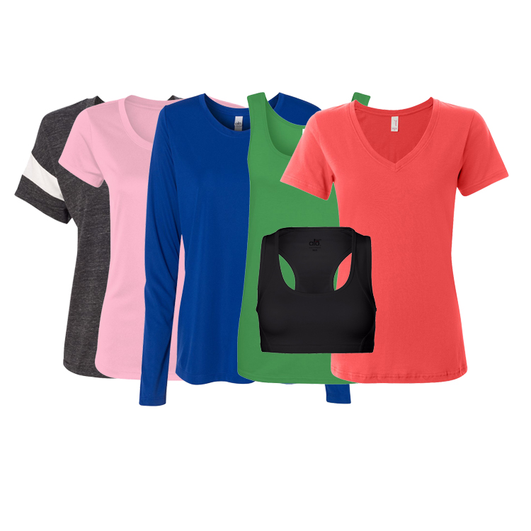 Assorted Ladies and Juniors apparel