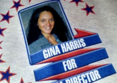 Gina Harris Promotion